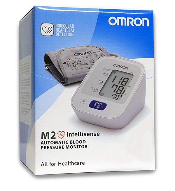 Omron M2 - Автоматичен електронен апарат за измерване на кръвното налягане - кутия