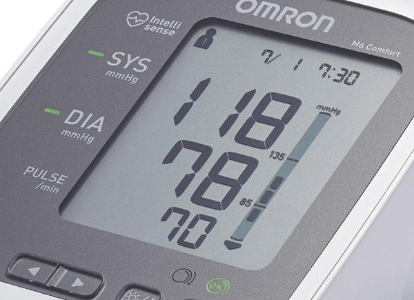 Omron M6 Comfort - електронен апарат за измерване на кръвното налягане